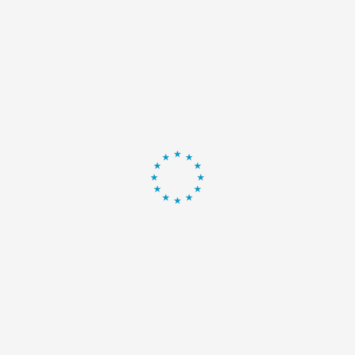 Vet Bed Circles Turquoise Grijs Wit - latex anti-slip. 1495-3